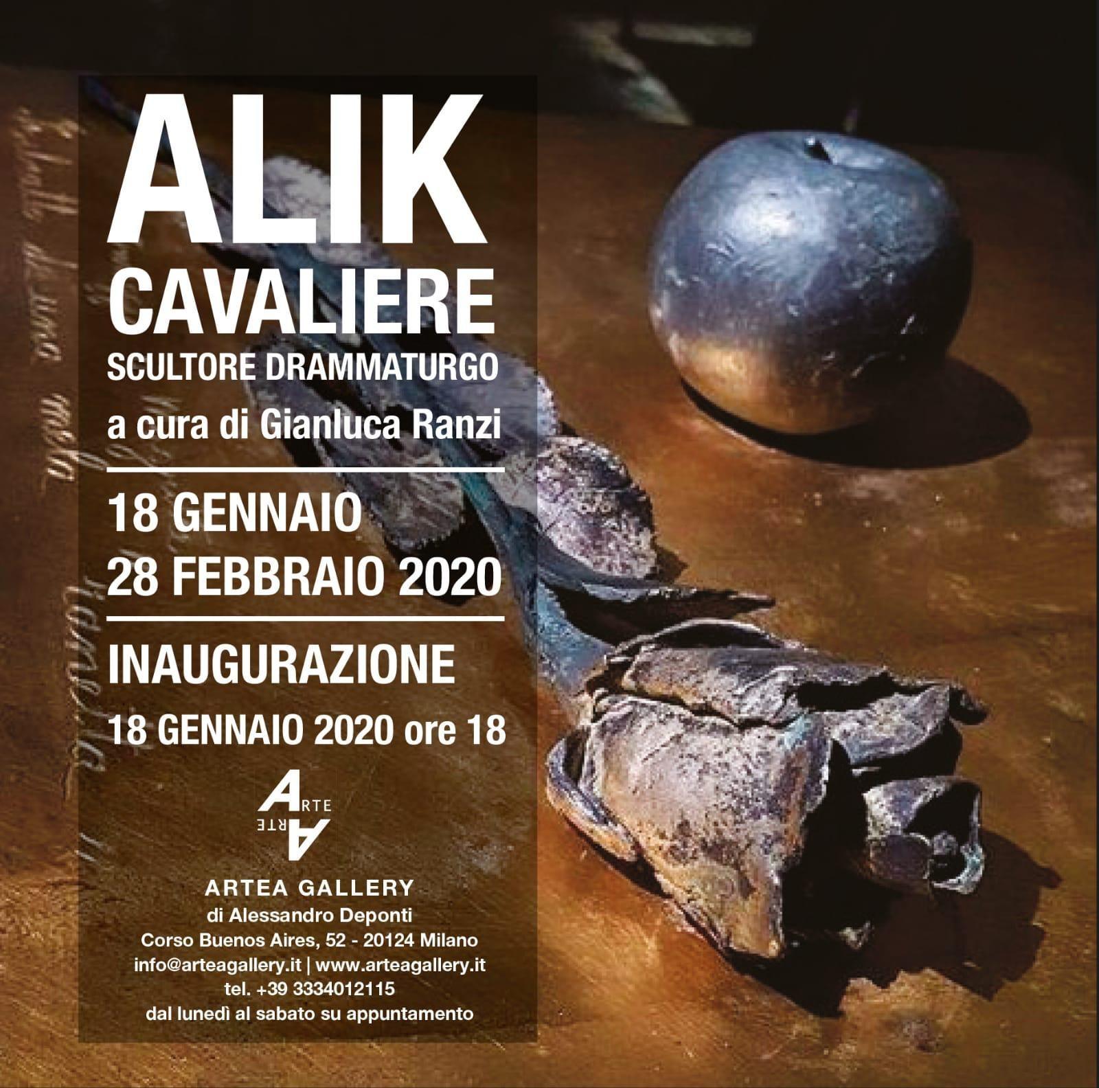 Alik Cavaliere - Scultore drammaturgo